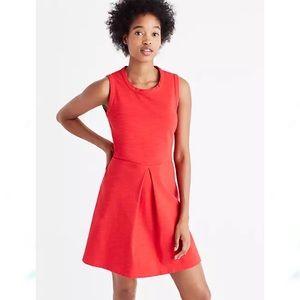 NWT Madewell Afternoon Mini Dress Red XL